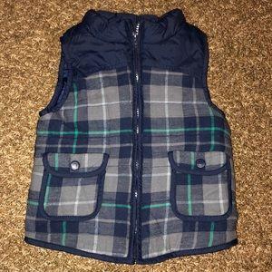 Toddler boys puffy vest